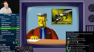 The Simpsons: Hit & Run 100% Speedrun in 3:04:54 [World Record]
