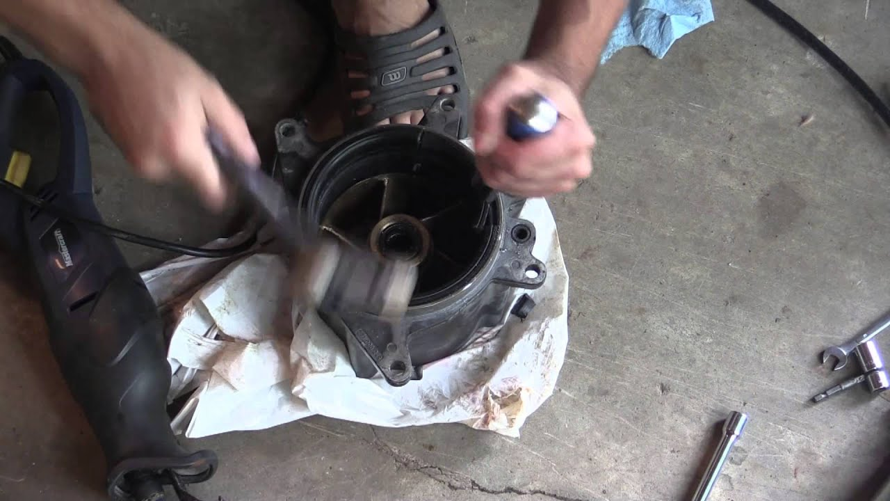 Seadoo Jet Pump - Removing/Replacing Wear Ring