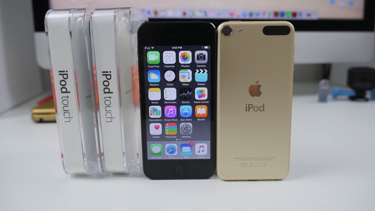ipod touch 6th generation unboxing and setup youtube rh youtube com Apple iPod Touch iPod Touch User Manual
