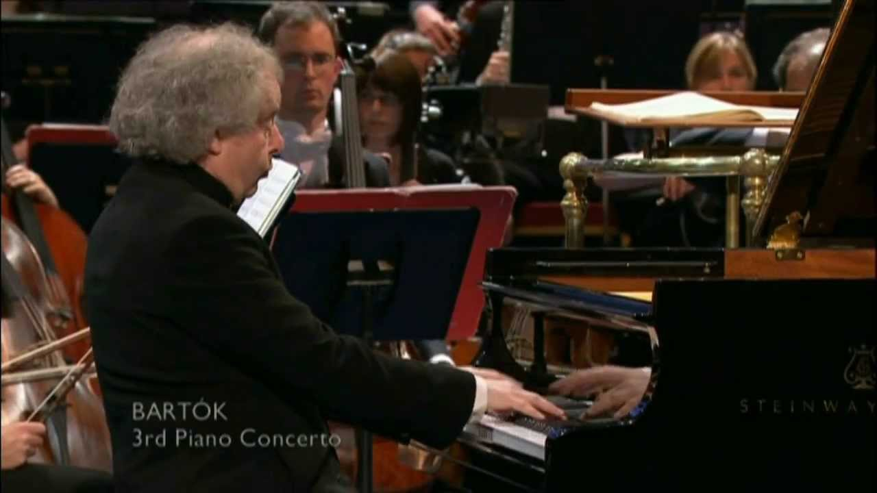 András Schiff - Bartók - Piano Concerto No 3 in E major, Sz 119