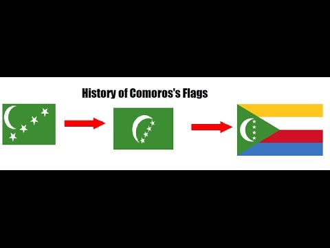 History of Comoros Flags