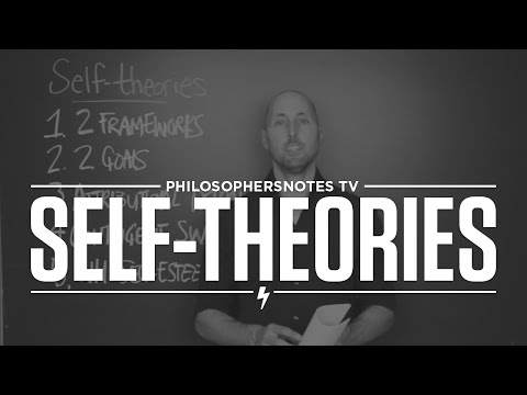 Self-theories by Carol Dweck