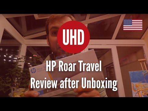 HP Roar Travel Review after Unboxing [4K UHD]