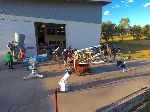 Tamworth Regional Astronomy Club Promotional Video