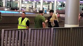 LAX airport police seize car Illegal cab driver