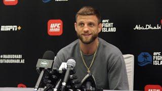 UFC on ESPN 13: Calvin Kattar Media Day Scrum - MMA Fighting