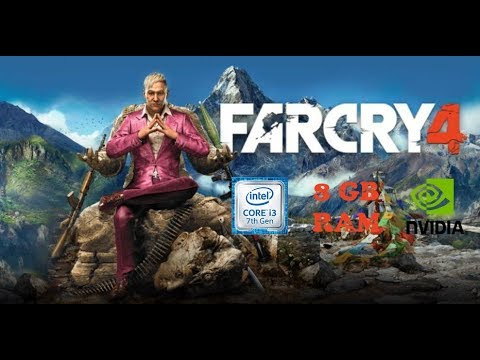 Far Cry 4 | i3 7100U | 8 GB RAM | Nvidia MX110 |