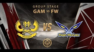 [12.05.2017] GAM vs FW [MSI 2017][Group Stage]