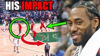 The REAL Reason Why The Raptors Are SO Good With Kawhi Leonard (Ft. Spurs & NBA Defense Highlights)