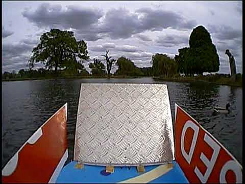 Floaty McFerry Face FPV RC car ferry boat