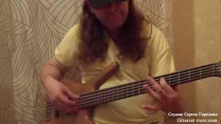 Уроки игры на бас-гитаре. Слэп. Видео урок