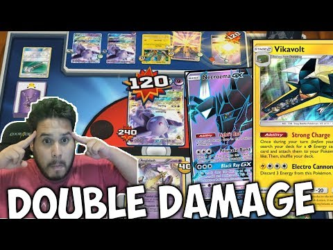 Never Before Seen AEGISLASH VIKAVOLT NECROZMA Deck! Take All Your Prize Cards At Once! PTCGO