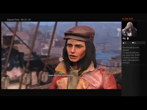 Icayhtian1's Live PS4 Fallout 4 USS Constitution.