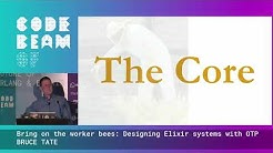 Bring on the worker bees (Designing Elixir systems with OTP) - Bruce Tate | Code BEAM SF 20