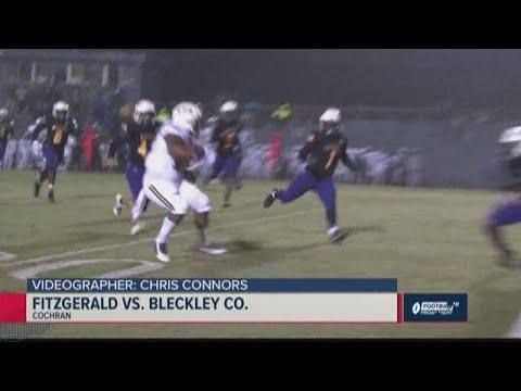 Fitzgerald Vs. Bleckley County 2019 Georgia High School Football Highlights (Week 13)