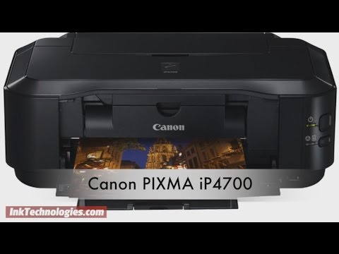 CANON PIXMA IP4700 PRINTER WINDOWS DRIVER