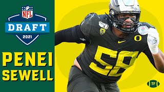 What Makes Penei Sewell a Generational Tackle | Film Study