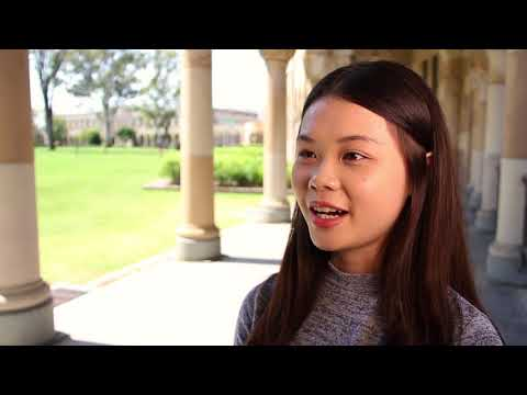 International students from China studying at UQ