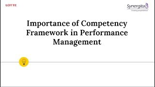 Webinar - The Importance of Competency Framework in Performance Management