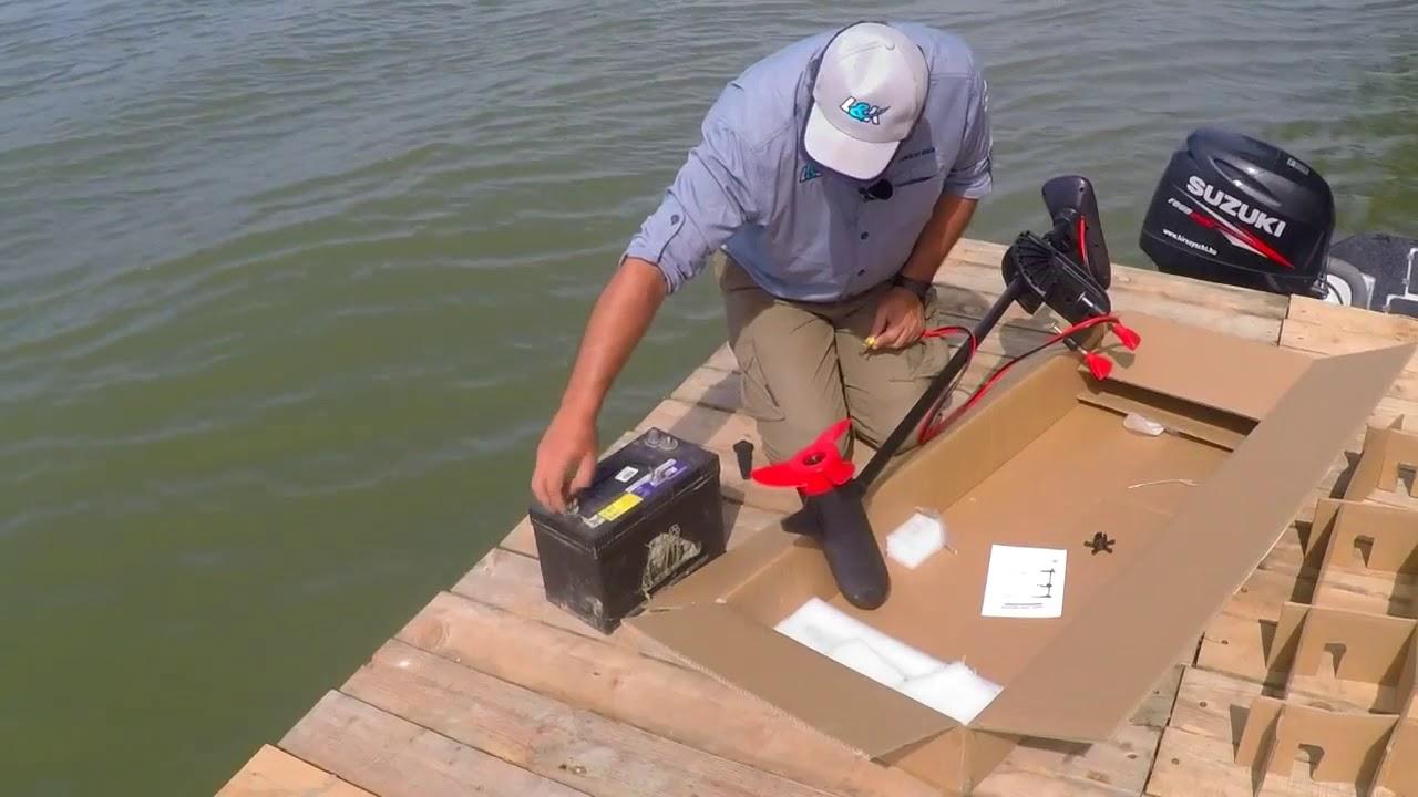 Extra Erős E Sential Red 66 Lbs Elektromos Csónakmotor