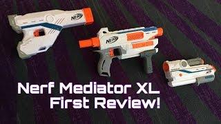 First Review: Nerf Modulus Mediator XL (Best Modulus Gun Ever?)