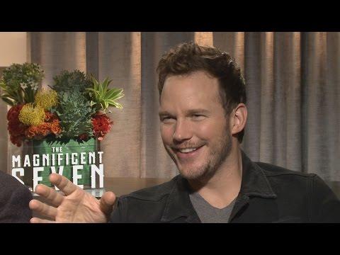 Chris Pratt's MAGNIFICENT SEVEN Interview is interrupted by Vincent D'Onofrio
