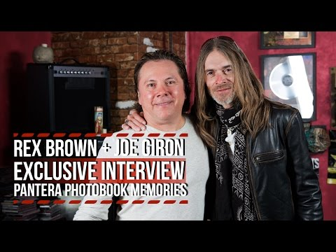 Rex Brown + Joe Giron: Pantera Photo Book Memories