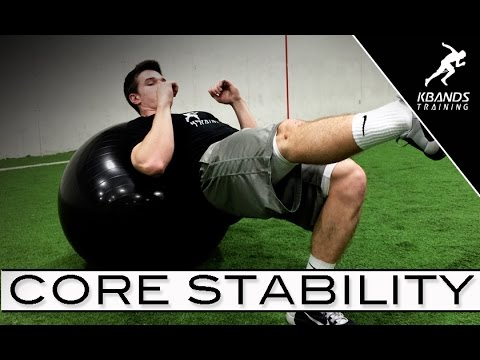 Stability Ball Core Strength Workout