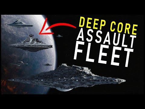 Palpatine's HUGE Core Assault Fleet (12+ Super Star Destroyers)... and it's destruction   Star Wars