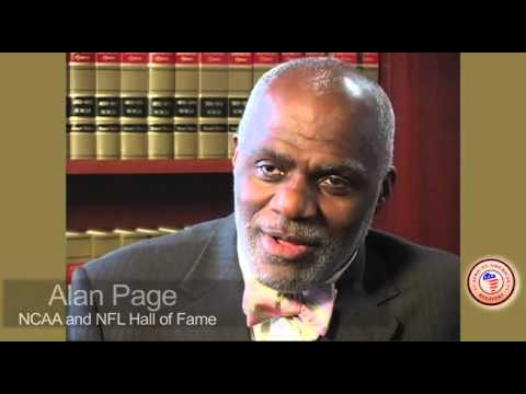 Favorite Childhood Memory, Alan Page by African American Registry