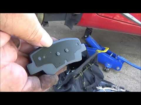 2013 Kia Rio EX Replace Rear Brake Pads