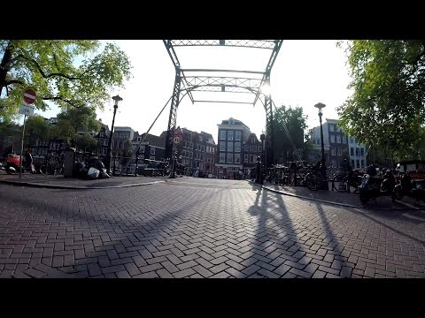Amsterdam city center bicycle tour