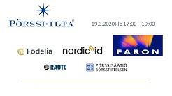 Pörssi-ilta Turku 19.3.: Faron Pharmaceuticals, Nordic Id, Raute ja talouskatsaus