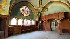 Blick in die Kapelle und OP-Säle im ehemaligen Klinikum Kolkwitz