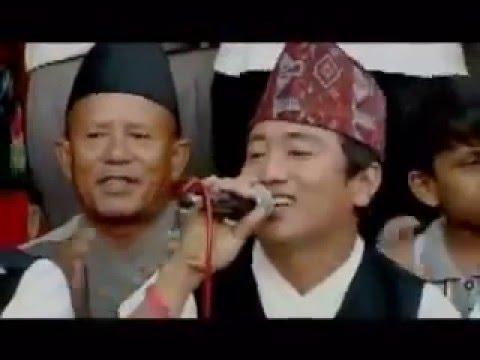 Ghamsa Ghamsi Dohori 2018   Ramji khand and late Manju Mahat live Deuraliko Bhatti pasal