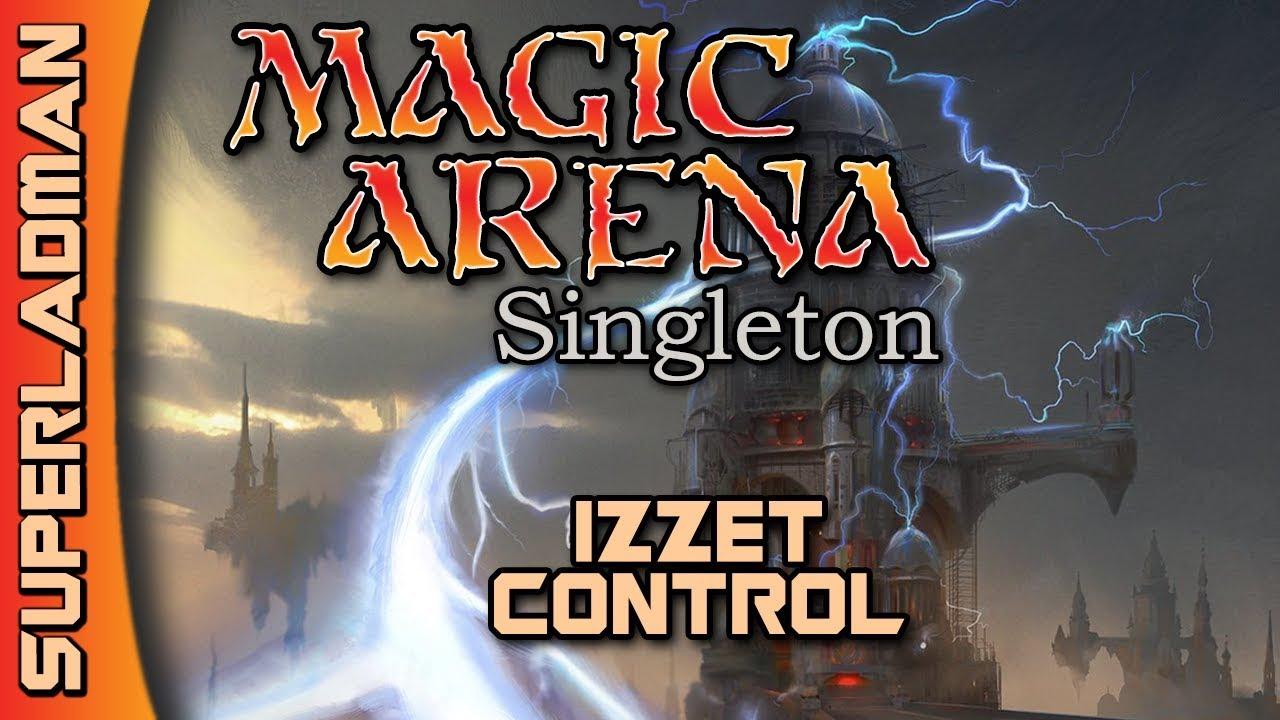 Magic Arena Singleton | Izzet Control #1