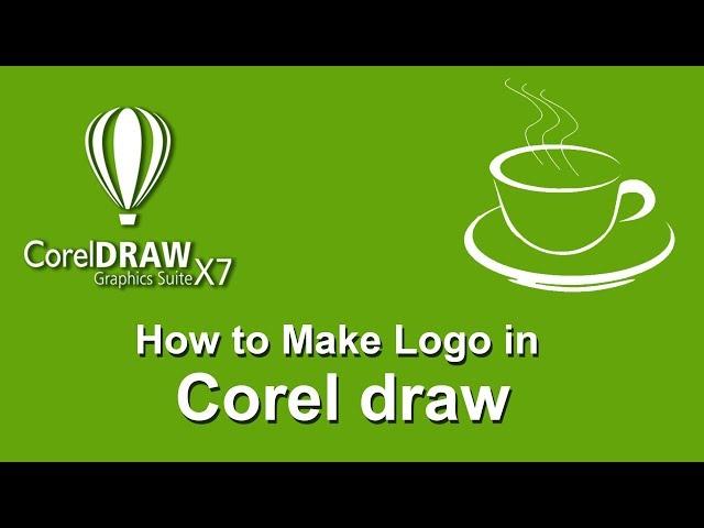 Image to logo Making using Corel Draw 2019.