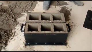 вручну блок подвійний 15 з 3 отворами ( 14x19x39cm