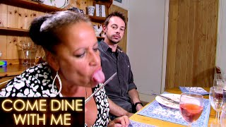 Heather Calls Out Zaira For 'Eating Off A Knife' | Come Dine With Me