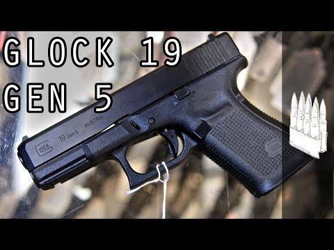 Glock 19 Gen 5 Initial Impressions (also the illuminati)