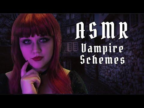 ASMR Roleplay  | Vampire Hypnosis & Scheming | Journey To Eshon Part XIII | Hand Movements ASMR