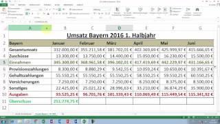 Excel Tipps und Tricks #25 Relative Bezüge in Formeln einsetzen