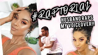 FULL FACE ELF COSMETICS   HUSBAND RAPS MY VOICEOVER #RAPTORIAL