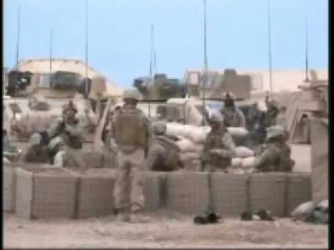 8th Marines Mortar Fire in Farah Province Afghanistan