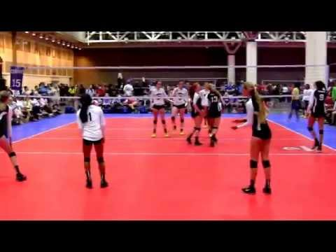 Junior Nationals - Vision Gold 15-1 vs. Skyline 15 Royal (Set 2)