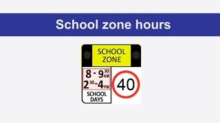 Baixar Road rules: school zones