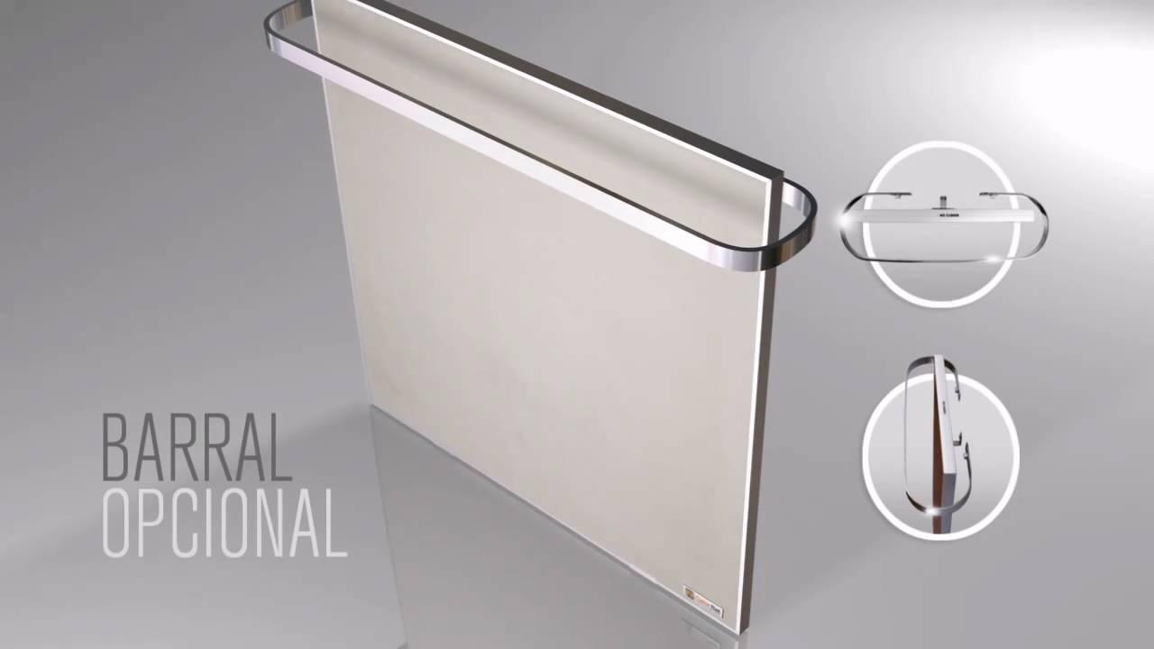 Panel calefactor de bajo consumo calorflat original de - Placas ceramicas calefaccion ...