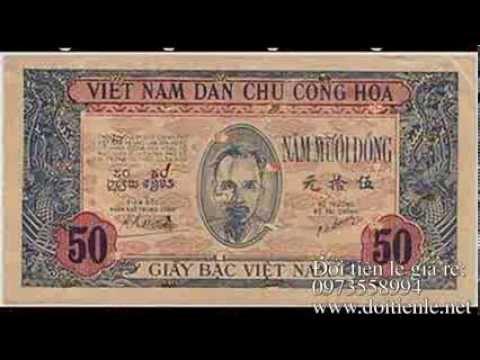 DỊCH VỤ ĐỔI TIỀN LẺ - Hình ảnh Tiền Việt Nam qua các thời kỳ