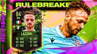 Fifa 21 rulebreakers lazzari (84) player review! ultimate team!