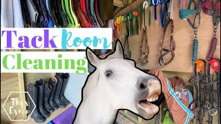 Major Tack Room Clean and Reorganisation! AD | This Esme